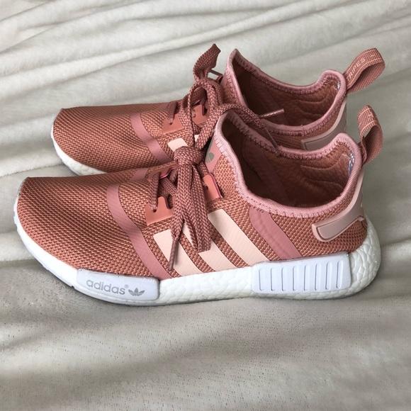 adidas Shoes   Mauve Pink Adidas Nmd